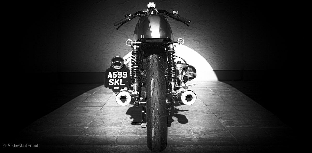 kevil single guys 'ace iii' bmw r100 – kevil's  some guys have all the luck  kev says that this was a total, ground-up rebuild that saw every single part of the bike.