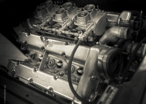 Photo of Dino engine Ferrari Photography Carrs by Andrew Butler Exeter Photographer Devon
