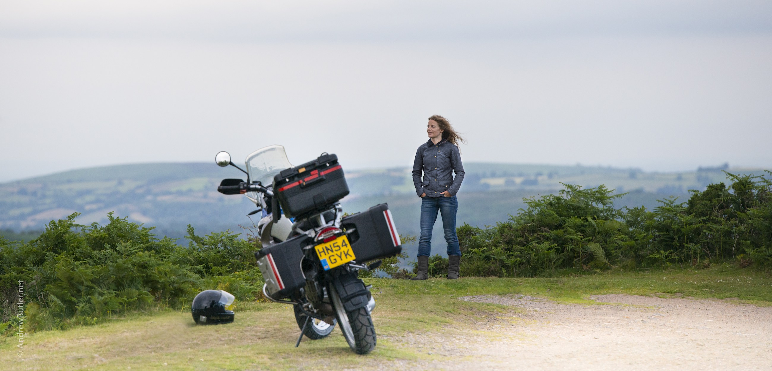 Female Motorcycle Photography Exeter Devon by Andrew Butler