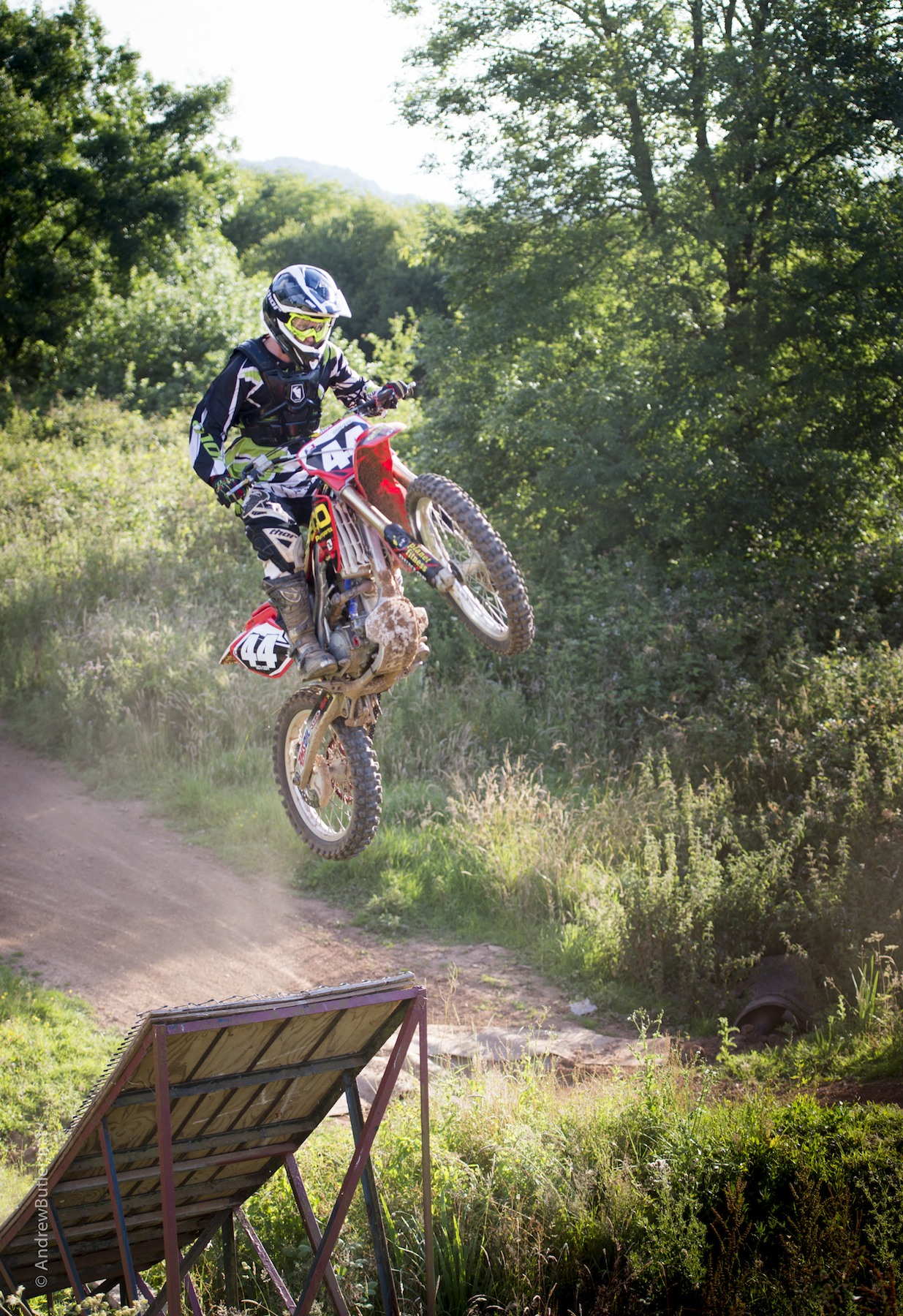 Photo of Motocross Rider Bike Photography Goodwood by Andrew Butler Exeter Photographer Devon