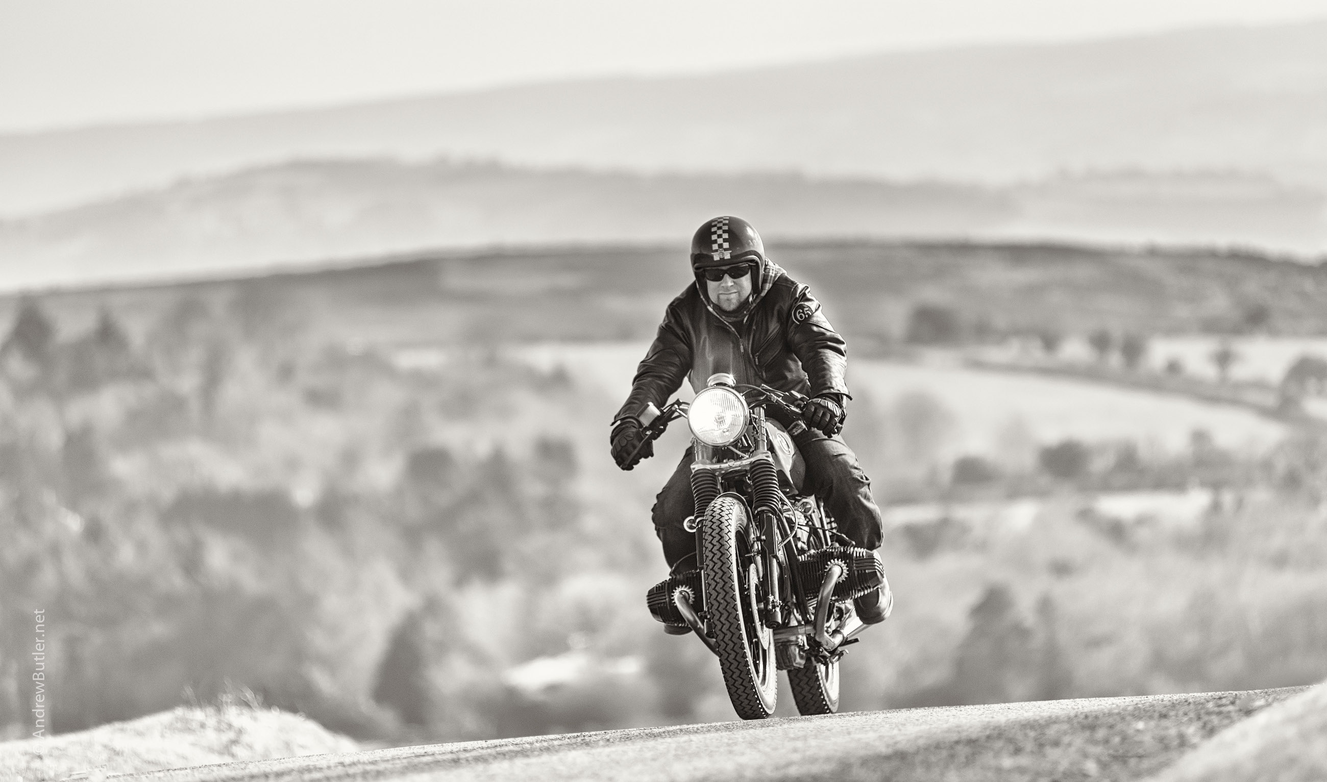 Kevils BMW motorbike Photography by Andrew Butler Exeter Photographer Devon