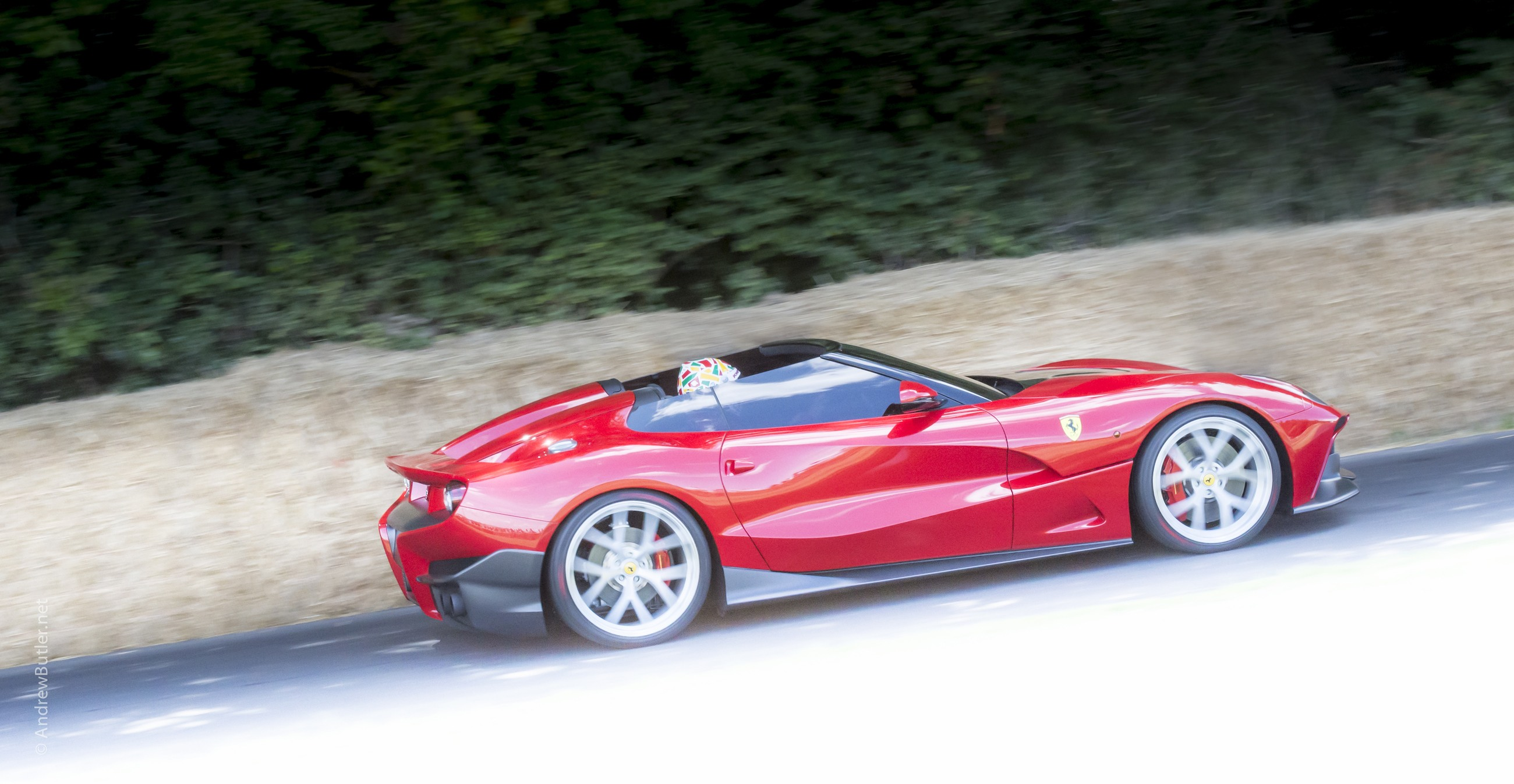 Ferrari TRS Car Photography Goodwood by Andrew Butler Exeter Photographer Devon