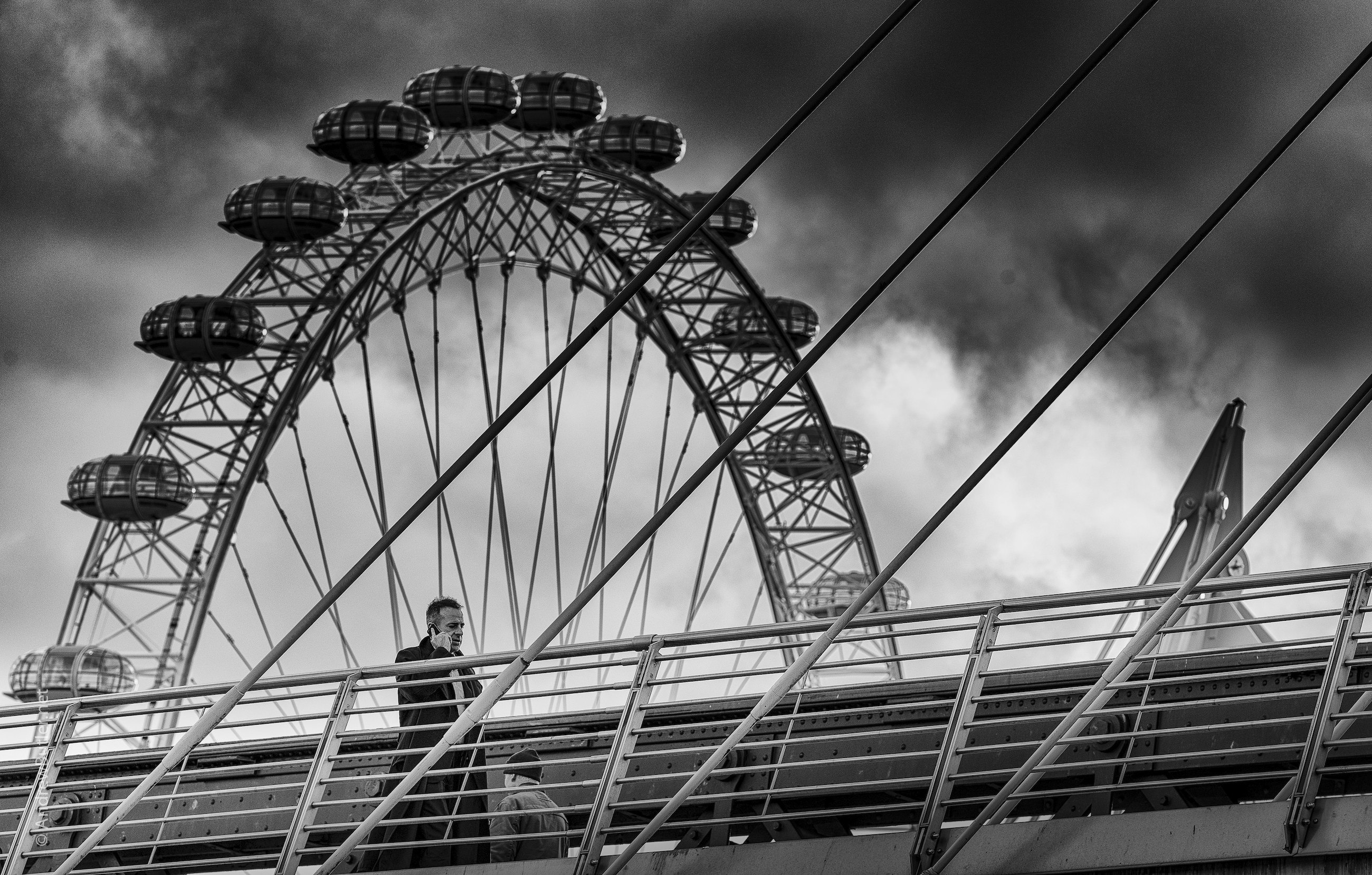 Architectural Photography, London Eye by Andrew Butler - Exeter, Devon