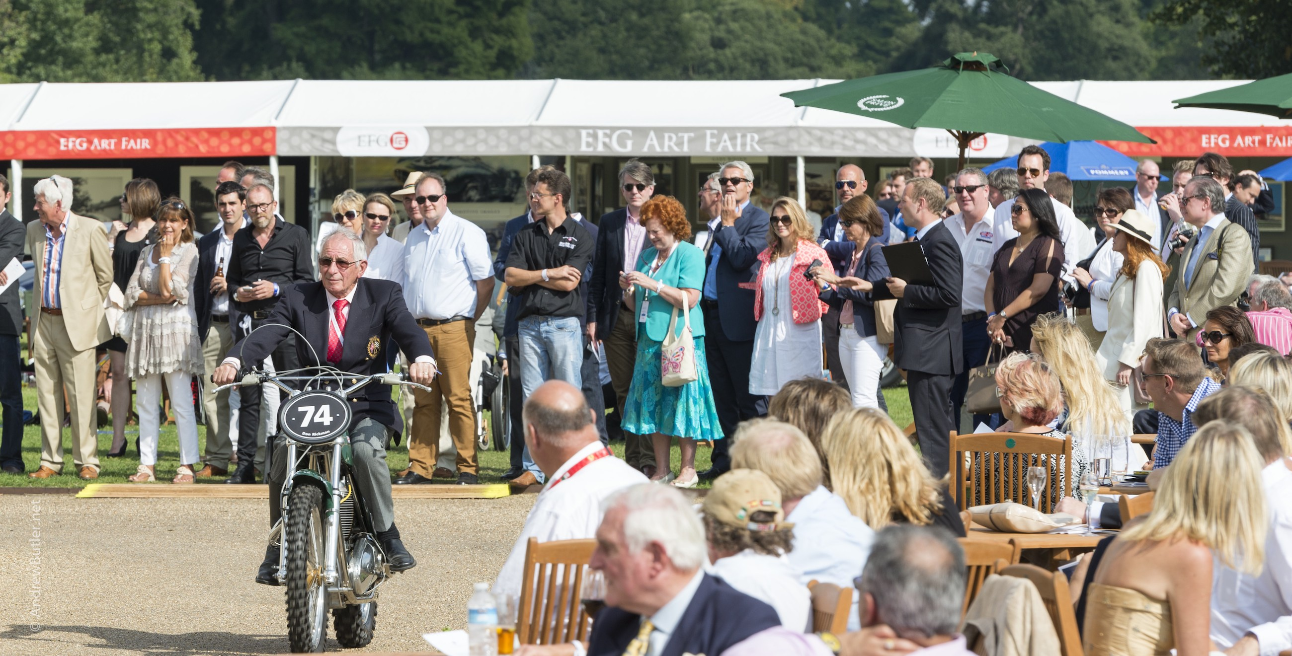 Salon Privé 2014 Don Rickman Photograph by Andrew Butler of Exeter Devon