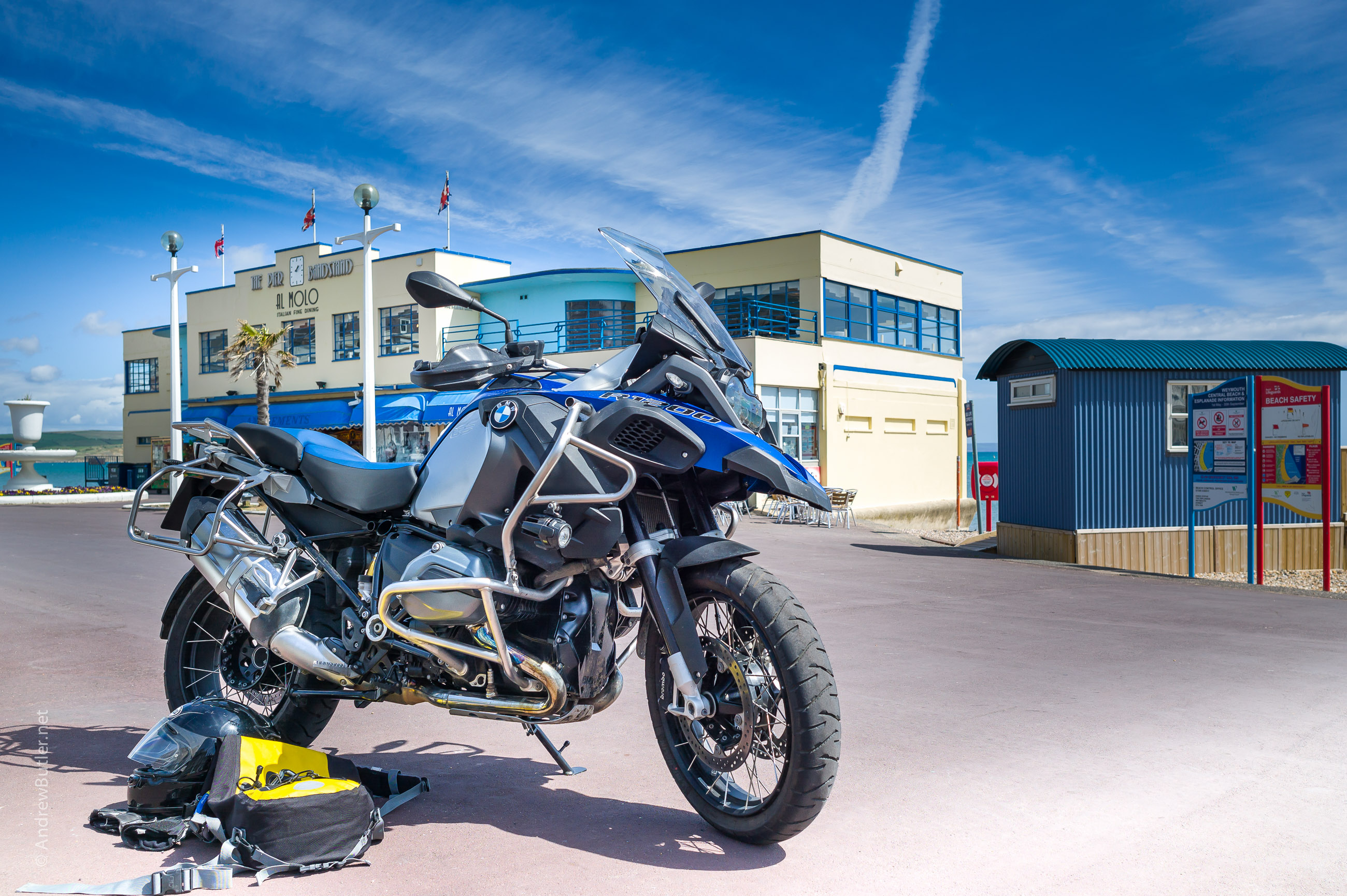 Weymouth by Andrew Butler Motorbike Motorcycle Photographer: Leica M9