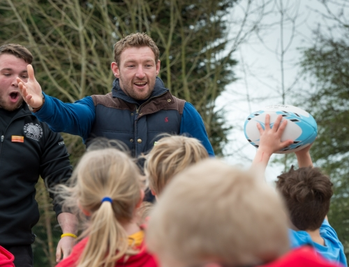 Mini's Academy PR Photography With Matt Jess of Exeter Chiefs