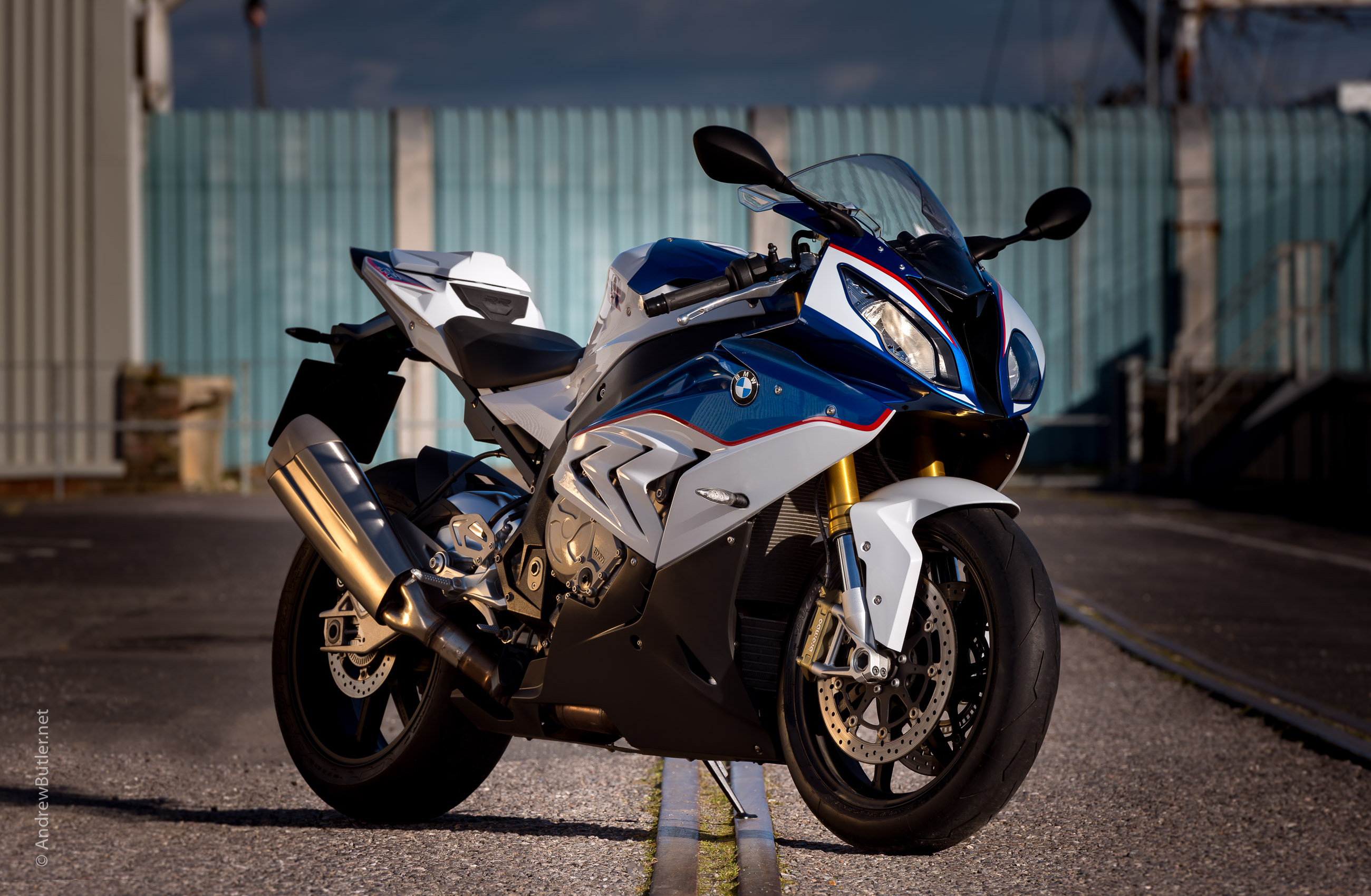 Motorcycle photographer Andrew Butler BMW S1000RR