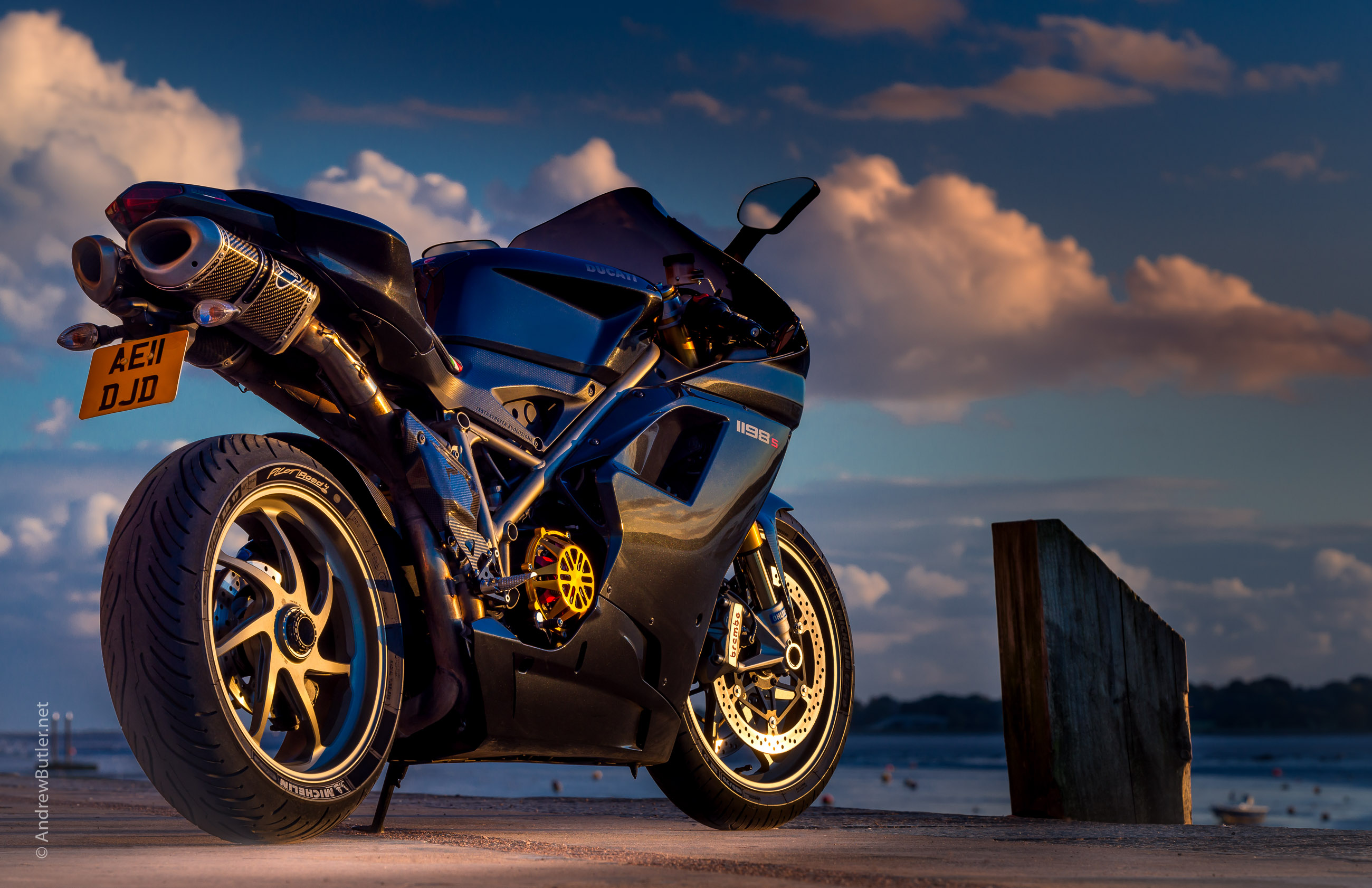 Motorbike Photography Using Natural Light