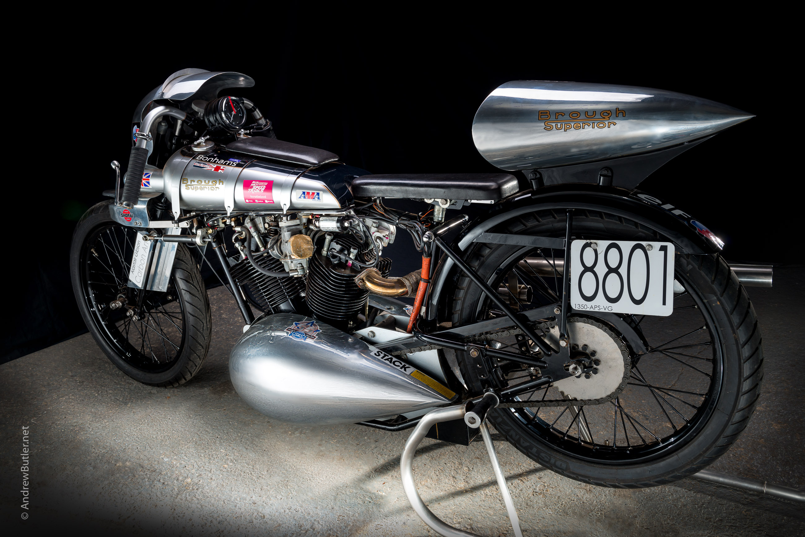 Photographing a Very Unusual Brough Superior