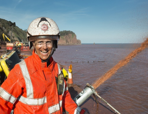Devon & Somerset Fire & Rescue Service: Teignmouth Rail Repairs