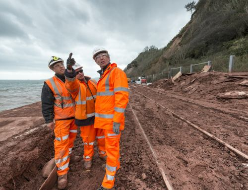 Dyer & Butler – Teignmouth Rail Repairs