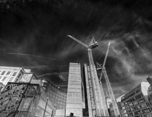 London: Photographs of Construction and  Reconstruction