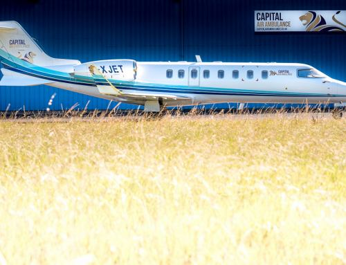 We'd Like You To Photograph Our Learjet