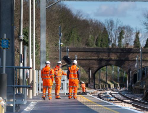 Railway Engineering Photography in London