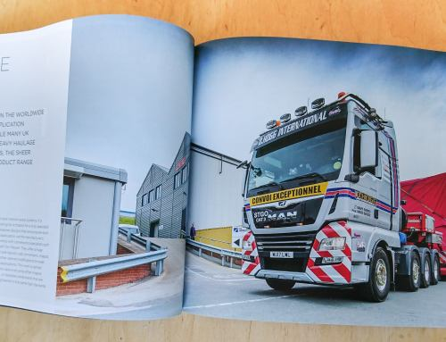 Heavy Haulage Photography Commission