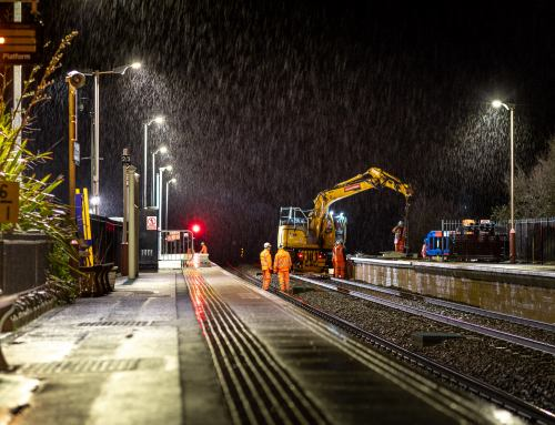 Night-Time Engineering Photography