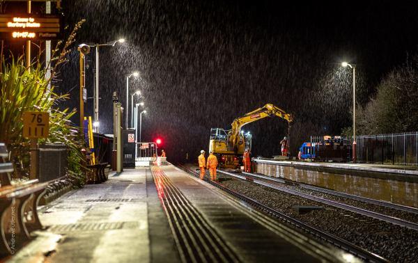 Night Engineering Photography