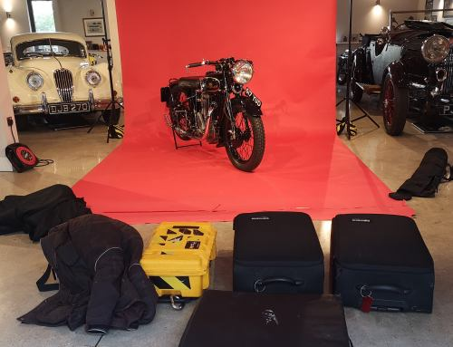 Location Motorcycle Studio Photography