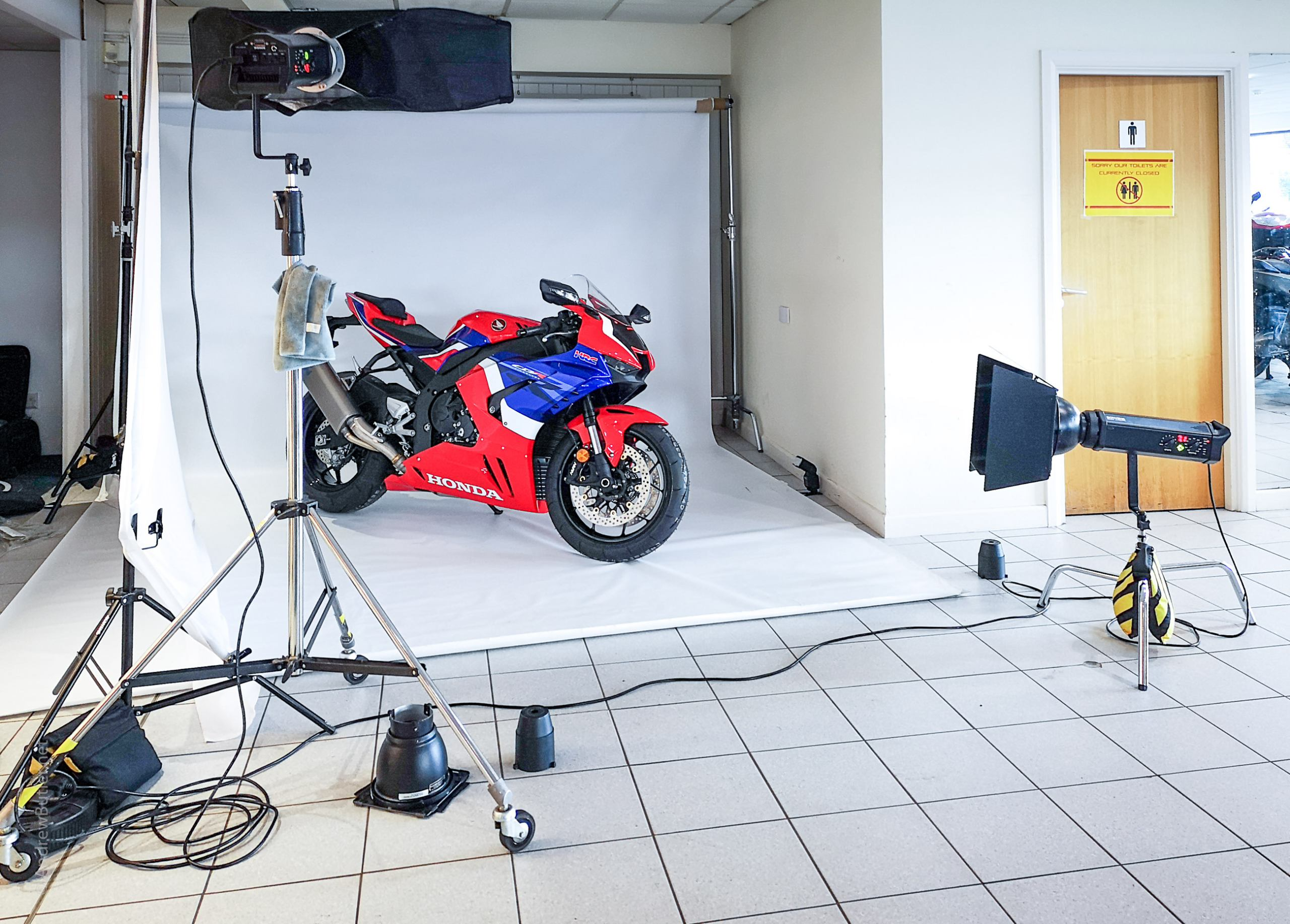 Motorbike Location Photography